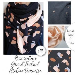 Box couture grand foulard