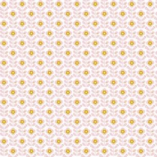 Popeline Graphic Flower